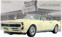 Lane/ExactDetail 1968 シボレー カマロ RS/SS 427 Yellow Nickey (street prep) 1:18