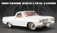 限定438台 ACME 1965 シボレー エルカミーノ BROCHURE CARS WHITE 1:18