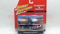 JL スタスキー&ハッチ 1974 グラントリノ&1969 リンカーン 2台セット 1:64
