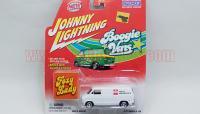 JL Boogie Vans 1977 ダッジ D-150 バン CRAGAR特注品 1:64