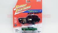 JL グリーンホーネット ブラックビューティー CHASE CAR グリーンクローム 1:64