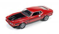 AutoWorld 1971 フォード マスタング MACH1 レッド 1:64