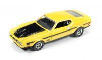 AutoWorld 1971 フォード マスタング MACH1 イエロー 1:64