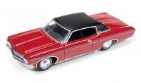 AutoWorld 1970 シボレー インパラ カスタム クーペ レッド 1:64