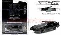 グリーンライト ブラックバンディット#11 1987 ポンティアック ファイヤーバード GTA 1:64