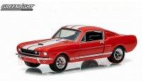グリーンライト GL MUSCLE #10 1966 シェルビー GT350 RED 1:64