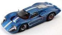 シェルビーコレクティブルズ 1967 フォード GT40 Mk� ブルー 1:18