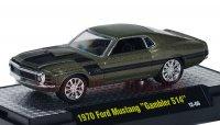 M2 CHIP FOOSE#1w/CASE 1970 フォード マスタング ガンメタ 1:64