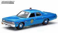 GREENLIGHT HOT PURSUIT #15 1975 ダッジ モナコ KansasCityPolice 1:64