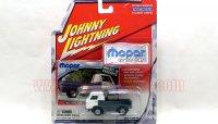 ジョニーライトニング 1965 ダッジ A-100 ホワイト/グレー 1:64
