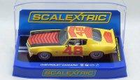 """【アウトレット】SCALEXTRIC 1970 シボレー カマロ """"#48"""" 1:32 スロットカー"""