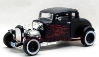 モーターマックス  1932 フォード ホットロッド ブラック/フレア 1:18