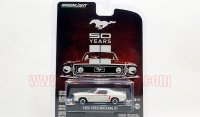 GREENLIGHT Anniversary#2 1968 フォード マスタング GT 50th Anniv. ホワイト 1:64