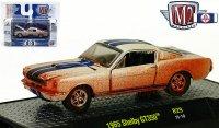 M2 DetroitMuscle#29 1966 シェルビー GT350 ホワイト 1:64