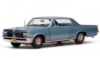 サンスター 1964 ポンティアック GTO Lブルー 1:18
