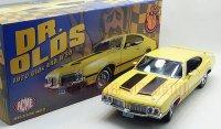 限定702個 ACME 1970 オールズモビル 442 W30 イエロー 1:18