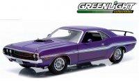 グリーンライト 1970 ダッジ チャレンジャー R/T HEMI プラムクレイジー 1:18