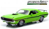 グリーンライト 1970 ダッジ チャレンジャー R/T HEMI サブライム 1:18