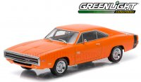 グリーンライト 1970 ダッジ チャージャー R/T ヘミオレンジ 1:43