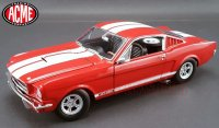 ACME 1965 シェルビー GT350 レッド/ホワイトストライプ 1:18<img class='new_mark_img2' src='//img.shop-pro.jp/img/new/icons16.gif' style='border:none;display:inline;margin:0px;padding:0px;width:auto;' />