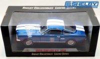シェルビーコレクティブルズ 1966 シェルビーGT350 ブルー/ホワイトストライプ 1:18