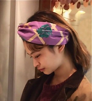 <img class='new_mark_img1' src='//img.shop-pro.jp/img/new/icons1.gif' style='border:none;display:inline;margin:0px;padding:0px;width:auto;' />Original Print Turban(ターバン)