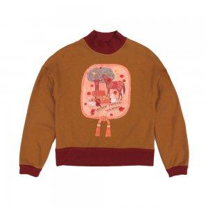 Golden Treasure Sweatshirt★SAMPLE SALE/Brown