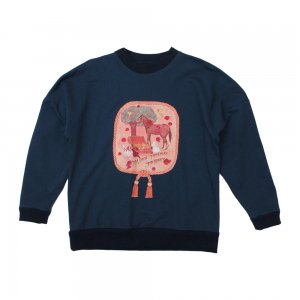 <img class='new_mark_img1' src='//img.shop-pro.jp/img/new/icons1.gif' style='border:none;display:inline;margin:0px;padding:0px;width:auto;' />Golden Treasure Oversized Sweatshirt