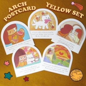 ARCH POSTCARD【YELLOW SET】(5枚セット)