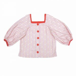 <img class='new_mark_img1' src='https://img.shop-pro.jp/img/new/icons61.gif' style='border:none;display:inline;margin:0px;padding:0px;width:auto;' />Melon Pop Blouse★SAMPLE SALE