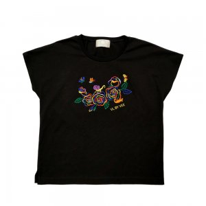 <img class='new_mark_img1' src='https://img.shop-pro.jp/img/new/icons61.gif' style='border:none;display:inline;margin:0px;padding:0px;width:auto;' />Rainbow Roses T-shirt★SAMPLE SALE