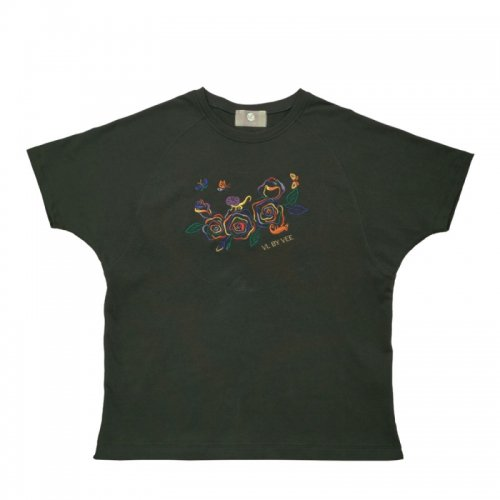 <img class='new_mark_img1' src='//img.shop-pro.jp/img/new/icons1.gif' style='border:none;display:inline;margin:0px;padding:0px;width:auto;' />Rainbow Roses Oversized T-shirt★10%還元キャンペーン中