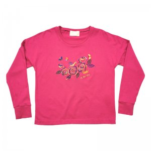 <img class='new_mark_img1' src='https://img.shop-pro.jp/img/new/icons1.gif' style='border:none;display:inline;margin:0px;padding:0px;width:auto;' />Rainbow Roses Long Sleeve T-shirt★SALE