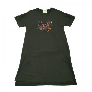 <img class='new_mark_img1' src='//img.shop-pro.jp/img/new/icons61.gif' style='border:none;display:inline;margin:0px;padding:0px;width:auto;' />Rainbow Roses Tee Dress★10%還元キャンペーン中