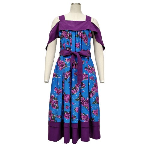<img class='new_mark_img1' src='https://img.shop-pro.jp/img/new/icons61.gif' style='border:none;display:inline;margin:0px;padding:0px;width:auto;' />Blossom Contrast Tank Dress (2 way)★SAMPLE SALE