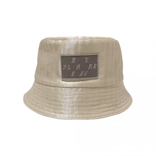 <img class='new_mark_img1' src='https://img.shop-pro.jp/img/new/icons61.gif' style='border:none;display:inline;margin:0px;padding:0px;width:auto;' />My Pleasure  Bucket Hat /Ivory【Special!】