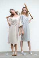 <img class='new_mark_img1' src='//img.shop-pro.jp/img/new/icons53.gif' style='border:none;display:inline;margin:0px;padding:0px;width:auto;' />【Lazy Daily Exercize】Sweat Dress(15SS)