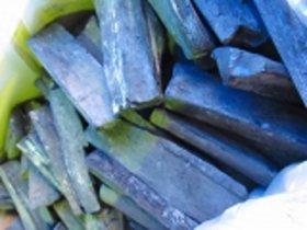 宮崎備長炭(日向)短割れ 12kg×2--24kgMサイズ、樫はじきにくく、扱いやすい、業務用最適