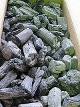 土佐備長炭(2級)12kgフリーサイズの小   x 2箱