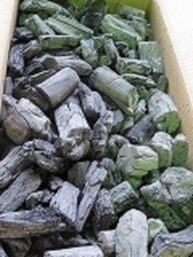 土佐備長炭(2級)12kgフリーサイズの小   x 4箱