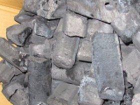 国産伊予オガ炭カット10kg×100-1000kg@¥2200.ー