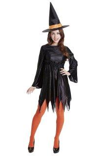 【購入不可】コスプレ ハロウィン スタンダードウィッチガール ハロウィンコスチューム halloween 仮装 衣装 魔女 魔法使い ハロウィーン 結婚式 二次会 余興 ハロウィン 出し物