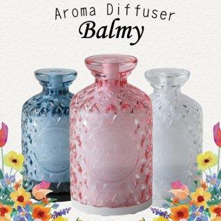 アロマディフューザー ミスト Aroma Diffuser BALMY バーミィ ミスト アロマ 芳香 簡単 リモコン付き シンプルマインド ランプ ダイヤカット おしゃれ オシャレ かわいい