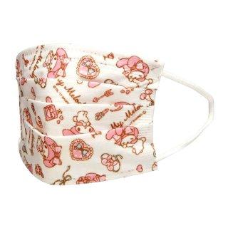 マスク マイメロディ 不織布子供マスク マイメロディ/MSKP3 三層構造 不織布 マスク 子供用 女性用 10枚入 マイメロディ サンリオ 風邪 対策 予防 BSALE