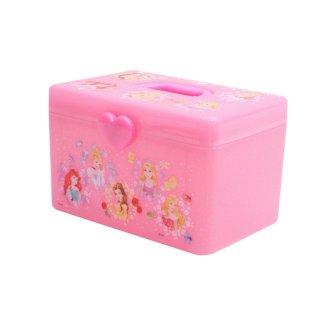 持ち手付きボックス プリンセス 持ち手付きボックス プリンセス/BO5 キャラクター ディズニー アリエル ベル ラプンツェル オーロラ姫 白雪姫 シンデレラ ボックス 収納 収納ケース 片付け