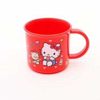 コップ キティ 食洗機対応プラコップ ハローキティ クッキー/KE4A キャラクター サンリオ ハローキティ コップ プラスチック 食洗機 子ども 子供 飲み物 お茶 ジュース