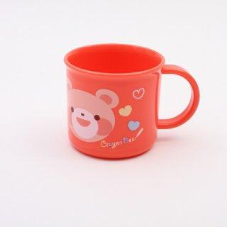 コップ クレヨンベアー ガール 食洗機対応プラコップ クレヨンベアー ガール/KE4A キャラクター クレヨンベアー ガール コップ プラスチック 食洗機 子ども 子供 飲み物 お茶 ジュース