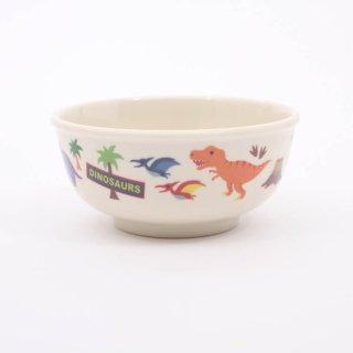 茶碗 ディノサウルス メラミン製茶碗 ディノサウルス/M320 茶碗 ディノサウルス ライスボウル メラミン かっこいい かわいい 子供用 恐竜