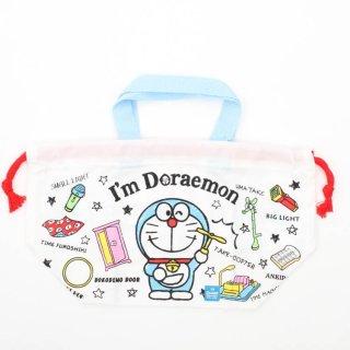 ドラえもん お弁当 巾着 ランチ巾着 I mドラえもん道具/KB7 スケーター Skater 子供用 お弁当 巾着袋 ドラえもん I'm Doraemon ブルックリン 日本製 幼稚園 保育園