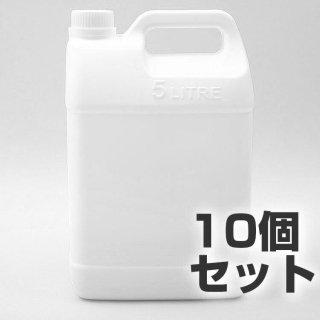 5L 空ボトル 10個セット ポリ容器 5リットルポリタンク ポリエチレン容器 5Lポリタンク ポリタンク ポリ容器 ポリ缶 水缶 水用 防災 災害 空ボトル 家庭 から 業務用 法人用 容器 大容量